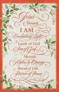 Christmas Premium Boxed Cards: Jesus Savior (Phil 2:9 Kjv)