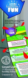 Gllw Summerd 2015/2016 Grades 1-5 Family Fridge Fun (5 Pack) (Gospel Light Living Word Series)