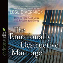 The Emotionally Destructive Marriage (Unabridged, 5cds)