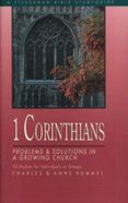 1 Corinthians: Problems & Solutions in a Growing Church (Fisherman Bible Studyguide Series)