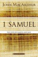 1 Samuel (Macarthur Bible Study Series)
