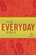 Ncv Everyday Bible