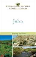 Nibc NT #04: John (#04 in New International Biblical Commentary New Testament Series)