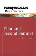 1 & 2 Samuel (Interpretation Bible Study Series)