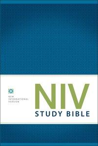 NIV Study Bible Regular