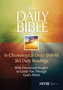 The Daily Bible? -- in Chronological Order  (Niv?)