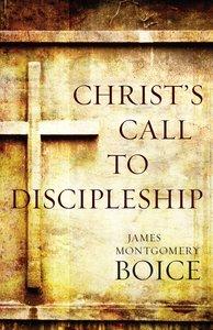 Christs Call to Discipleship