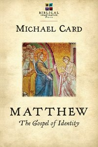 Matthew: The Gospel of Identity (Biblical Imagination Series)