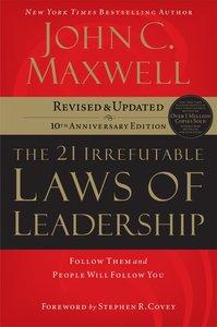 The 21 Irrefutable Laws of Leadership (Abridged, Mp3)