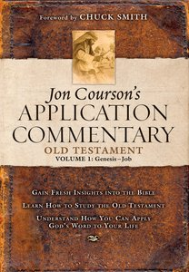 Old Testament #01 - Genesis-Job (Coursons Application Commentary Series)
