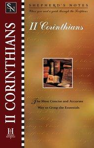 2 Corinthians (Shepherds Notes Series)