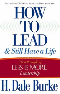How to Lead & Still Have a Life