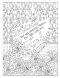 Color the Words of Jesus - Coloring Book For Your Soul (Adult Coloring Books Series)