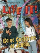 Being Christian At School Leaders Guide (Reproducible) (Live It! Series)