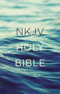 NKJV Value Outreach Bible Blue Scenic