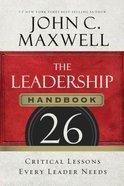 The Leadership Handbook (Unabridged, 8 Cds)