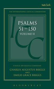 Psalms (Volume 2) (International Critical Commentary Series)