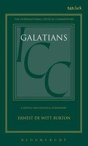 Galatians (International Critical Commentary Series)