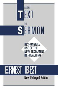 From Text to Sermon