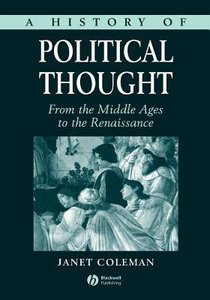 A History of Political Thought (Vol 1)