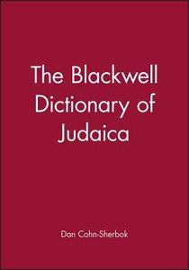 The Blackwell Dictionary of Judacia