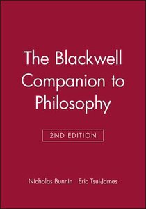 The Companion to Philosophy (Blackwell Companions To Philosophy Series)