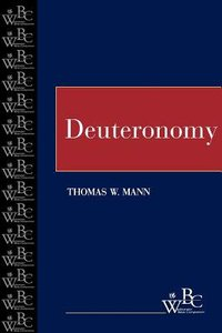 Deuteronomy (Westminster Bible Companion Series)