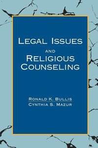 Legal Issues and Religious Counseling