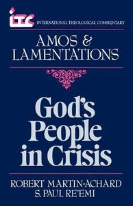 Itc Amos & Lamentations (International Theological Commentary Series)