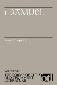 1 Samuel (Forms of the Old Testament Literature) (#07 in Forms Of The Old Testament Literature Series)