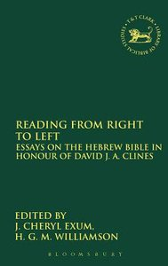 Reading From Right to Left (Journal For The Study Of The Old Testament Supplement Series)