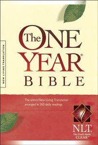 NLT One Year Bible Compact