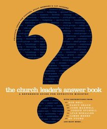 The Church Leaders Answer Book