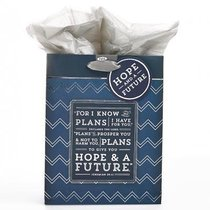 Gift Bag Medium: I Know the Plans (Incl Tissue Paper & Gift Tag)