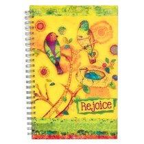 Spiral Notebook: Rejoice