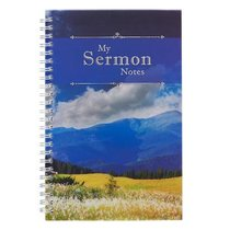 Spiral Notebook: My Sermon Notes (Mountains)