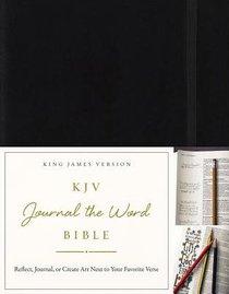 KJV Journal the Word Bible Black (Red Letter Edition)
