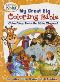 Wonder Kids: My Great Big Coloring Bible