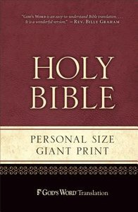 Gods Word Personal Size Giant Print