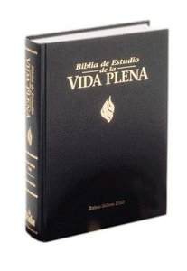 Rvr Biblia De Estudio De La Vida Plena Black (Red Letter Edition) (Life In The Spirit Study Bible)