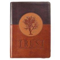 Classic Journal: Trust (Brown/tan Luxleather)