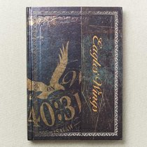 Hardcover Journal W/Flap: Eagles Wings (Isa 40:31)