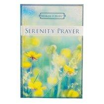 Serenity Prayer (Words Of Hope Series)