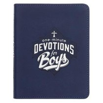 One-Minute Devotions For Boys (Navy)