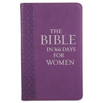 The Bible in 366 Days For Women (Purple)