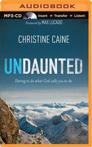 Undaunted (Unabridged, Mp3)