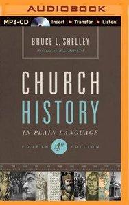 Church History in Plain Language (Unabridged, Mp3)