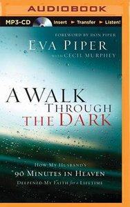 A Walk Through the Dark (Unabridged, Mp3)