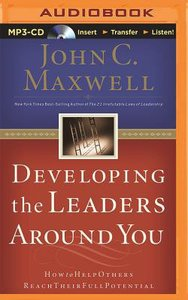 Developing the Leaders Around You (Unabridged, Mp3)
