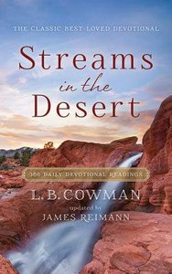 Streams in the Desert (Unabridged, 3 Cds)